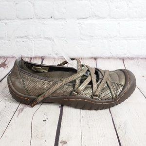 Jeep J 41 Bronze Side Liner Womens 7 Trail Shoes